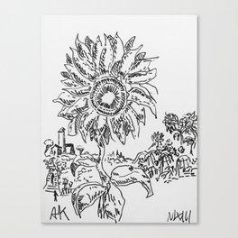 """Sunflowers"" by Mauri Canvas Print"