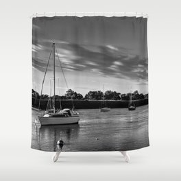 The River Crouch Essex Shower Curtain