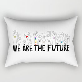 We Are The Future Tattoos Part 1 Rectangular Pillow