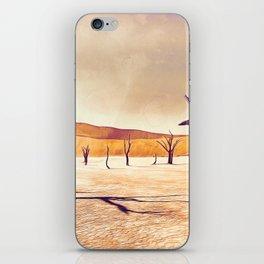 deadvlei desert trees acrls iPhone Skin
