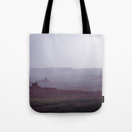 Rain in the Valley of the Gods Tote Bag