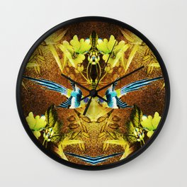 Natures Call II Wall Clock