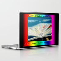 bible verses Laptop & iPad Skins featuring THE BIBLE by KEVIN CURTIS BARR'S ART OF FAMOUS FACES