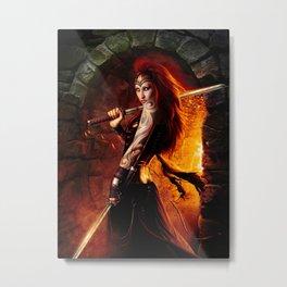 Crypt Keeper Metal Print