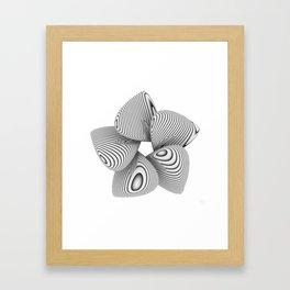 Bio Flower Art Print Framed Art Print