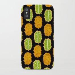 strange fruits (kiwano) iPhone Case