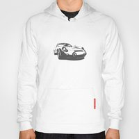 porsche Hoodies featuring Porsche 356 by Remove Before . . .