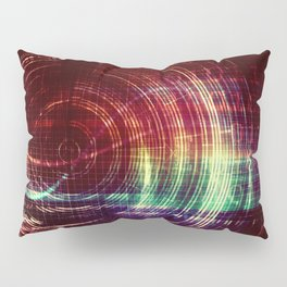 Futuristic User Interface and Navigation System as Concept Pillow Sham
