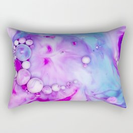 Bubbles-Art - Raspberries Rectangular Pillow