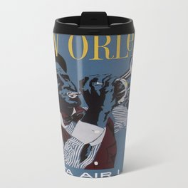 Vintage poster - New Orleans Travel Mug
