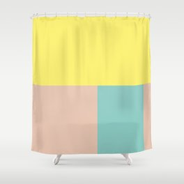 Pastel collection I Shower Curtain