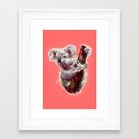 koala Framed Art Prints featuring Koala by beart24