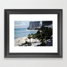 Mom & Dad's Hawaii Trip Slide No.1 Framed Art Print