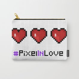 Pixel Heart Carry-All Pouch