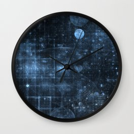 Space and Time Wall Clock