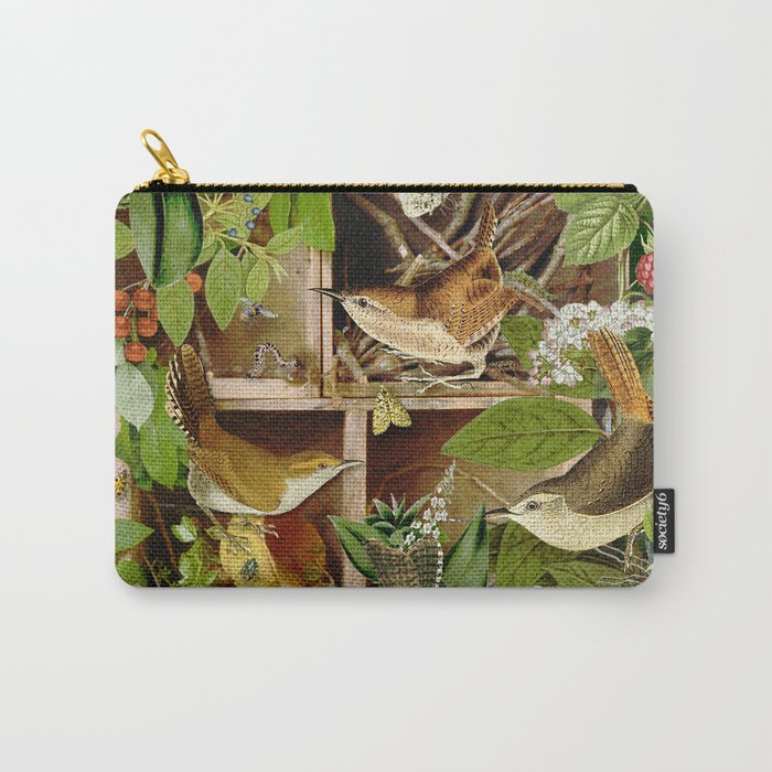 Rachael's Wrens Carry-All Pouch