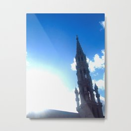 Sun and the Monument  Metal Print