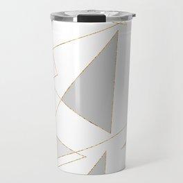 Duo of Triangles Travel Mug