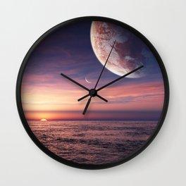 Ocean pastel Wall Clock