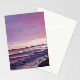 Maui Sunset Pixel Sort Stationery Cards