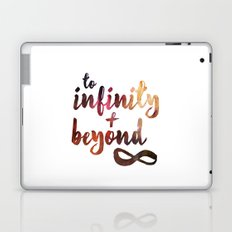 to infinity and beyond Laptop & iPad Skin