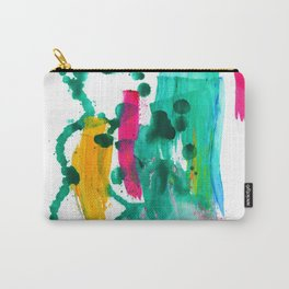 """Never Let Me Go"". Phthalo Green Series, No. 8 Carry-All Pouch"