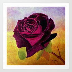 Rose for you Art Print