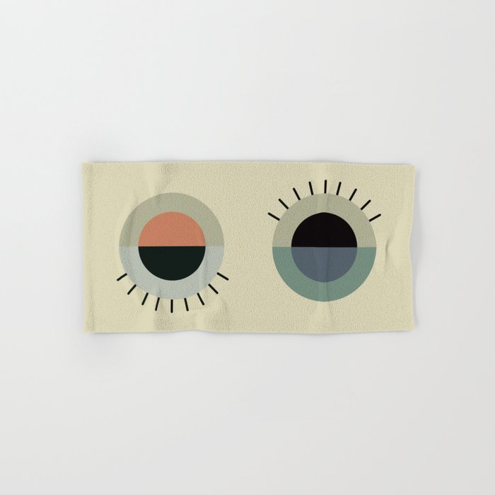 day eye night eye Hand & Bath Towel