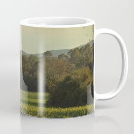 Once Upon a Time a Field of Flowers Coffee Mug