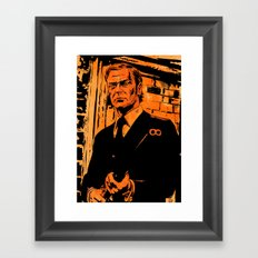 Michael Caine Framed Art Print