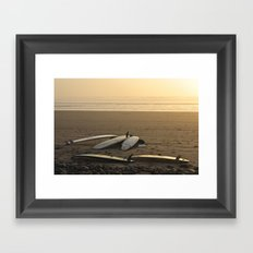 Day's End Framed Art Print