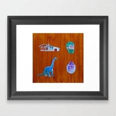 Four Things Framed Art Print
