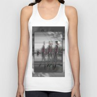 sam smith Tank Tops featuring Sam by Robin Curtiss