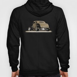 1932 Ford Hot Road Sepia Hoody