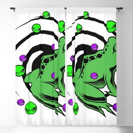 Frog  Blackout Curtain