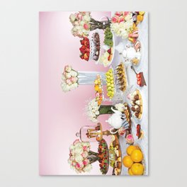 Pastry Party  Canvas Print