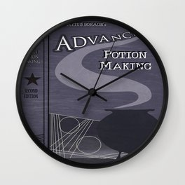 Advanced Potion Making Wall Clock