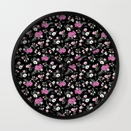Liberty Black Pattern Wall Clock