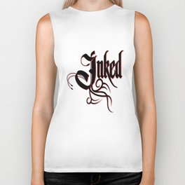 Inked Awesome Tattoo Artist & Lover Biker Tank
