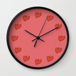 sweet apple Wall Clock