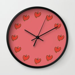 sweet apple Wall Clock