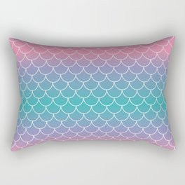 Pastel Mermaid Rectangular Pillow