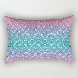 Pastel Mermaid Rectangular Pillow