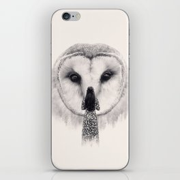 My Nocturnal Friend iPhone Skin