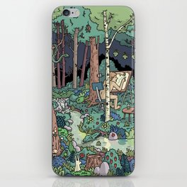 Artist in the Wild iPhone Skin