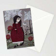 Winterbird, or Hope is a Thing With Feathers Stationery Cards