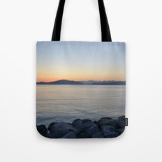 on a western shore Tote Bag