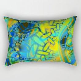 Abstract Layering Rectangular Pillow