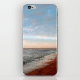 Winter Walk on the Beach iPhone Skin