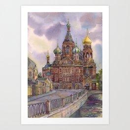 St. Peterburg Art Print